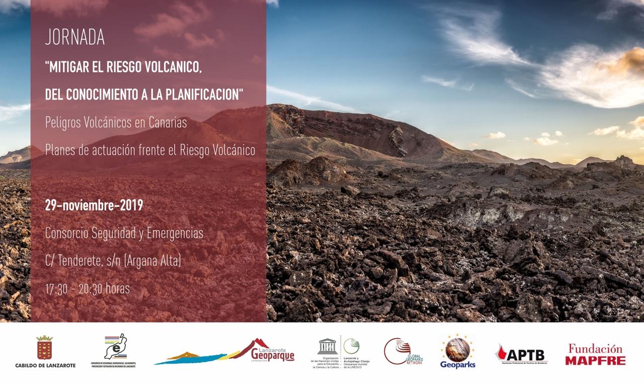 Jornadas Mitigar el Riesgo Volcánico