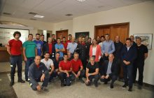 El Sargento del Cuerpo de Bomberos de Lanzarote, José Domingo Crespo, toma posesión oficial de su cargo