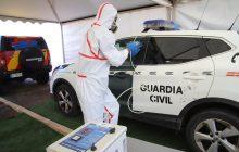 Desinfección de vehículos de Seguridad y Emergencia