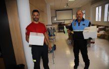 El Consorcio sigue con la entrega de material a las policías locales