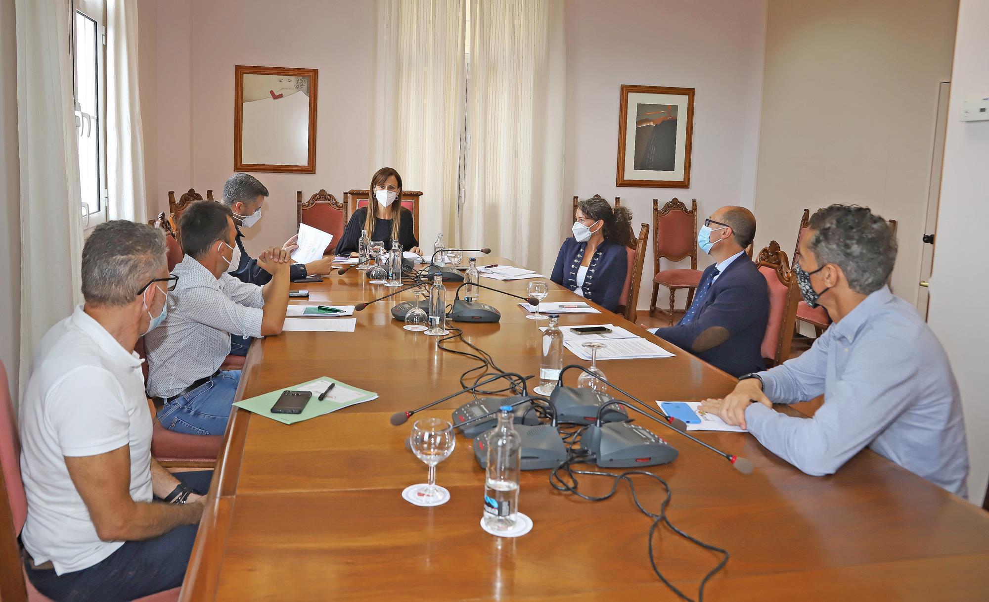 Cabildo, Consorcio y Gobierno de Canarias trabajan en la mejora de la Red de Emergencias y Seguridad en Lanzarote