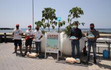 El Consorcio de Seguridad continúa con la campaña de Prevención de Ahogamientos en la playa del Reducto