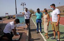 La campaña de Prevención de Ahogamientos llega a la playa de La Garita en Arrieta