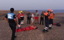 El Consorcio de Seguridad y Emergencias de Lanzarote actúa en sendos rescates en las últimas horas. Alerta por calor y prealerta por vientos